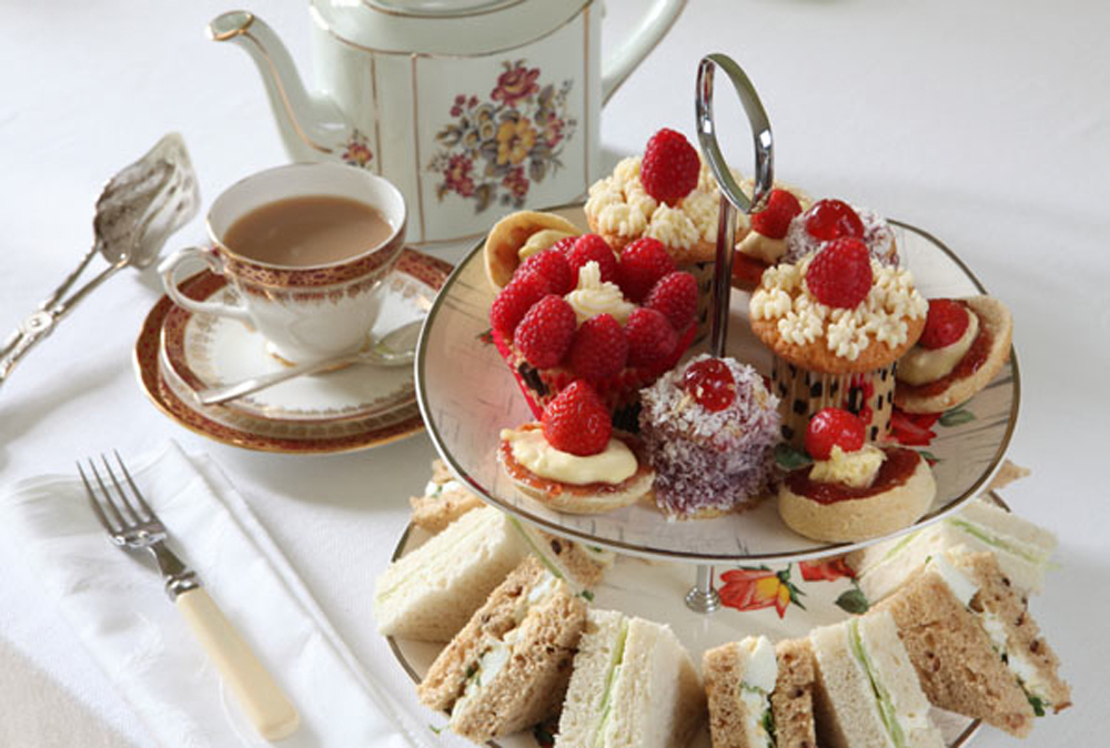 Afternoon Tea Sandwiches Cakes And Scones