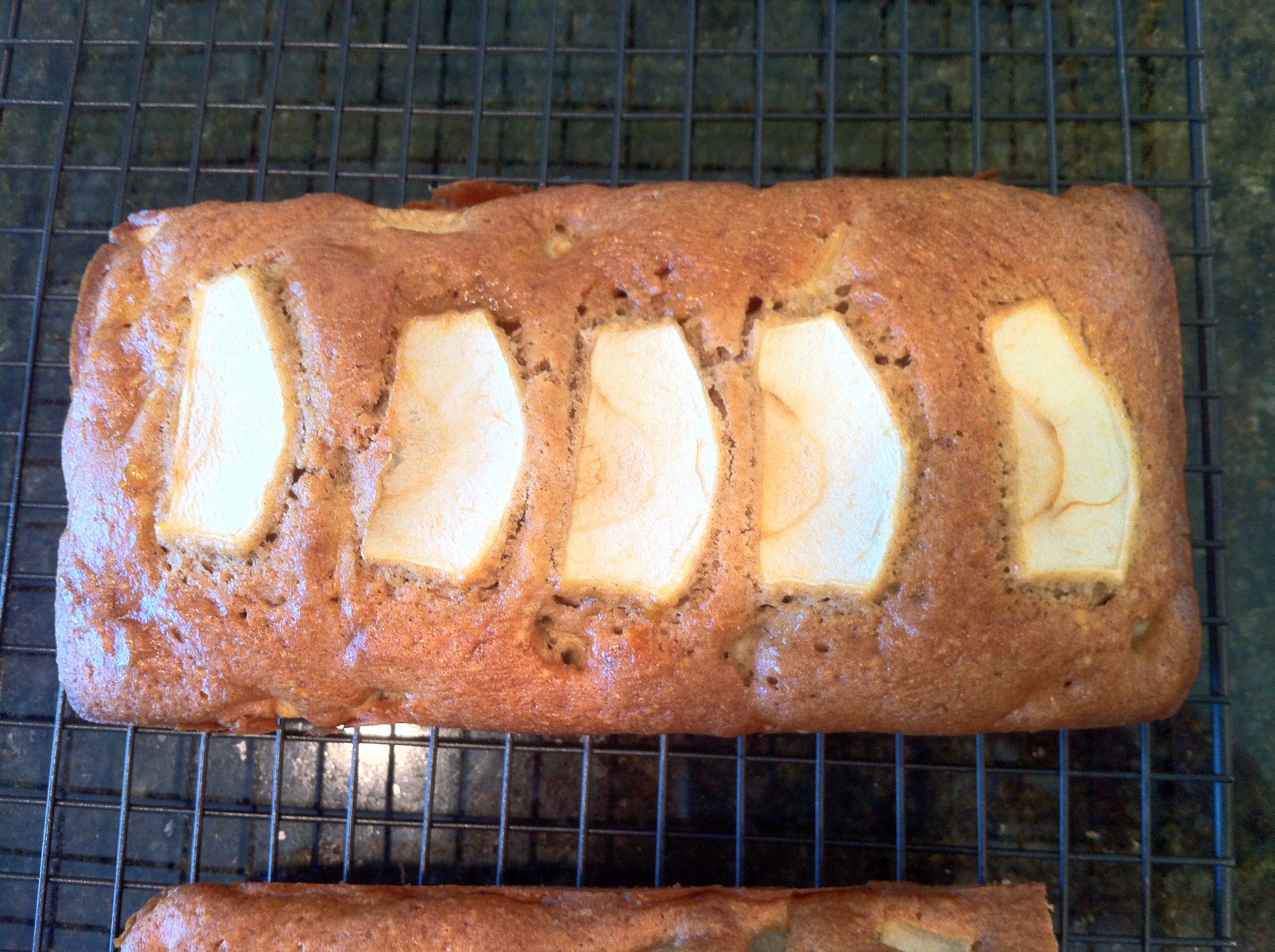 Apple And Cinnamon Loaf Cake English Baking In America